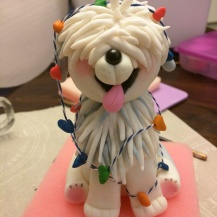 Shaggy Dog Tutorial Available, see cake decorating