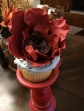 Poppy Fondant Cake Topper